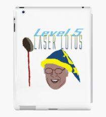 Community - Pierce, Laser Lotus iPad Case/Skin