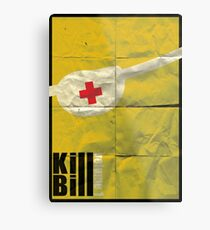 Kill Bill vol. 1 Metal Print