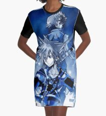 Final Key Sword Graphic T-Shirt Dress
