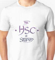 The HSC Is Stupid - Purple & Blue Unisex T-Shirt