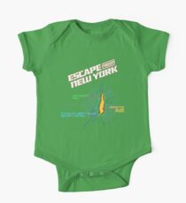 ESCAPE FROM NEW YORK - ISLAND MAP (1) Kids Clothes