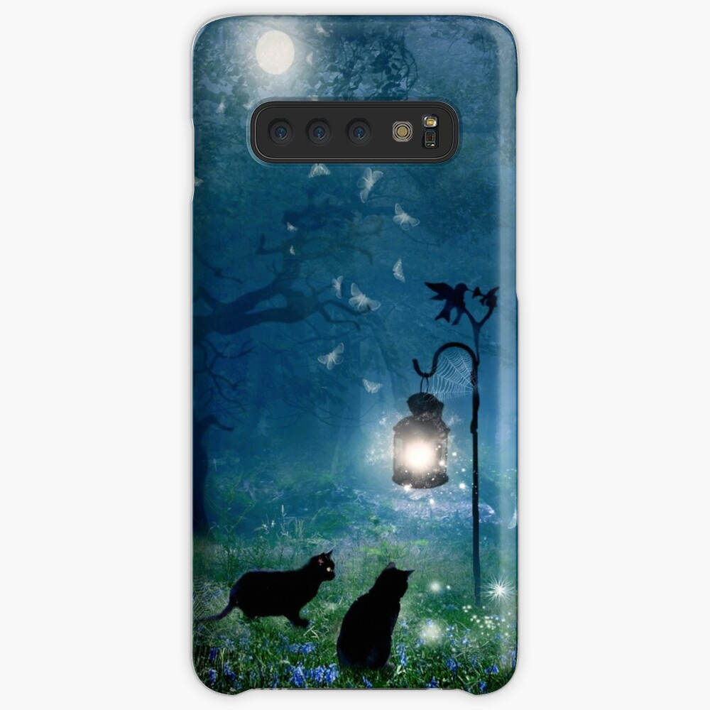 The Witches Cats (square) Case & Skin for Samsung Galaxy