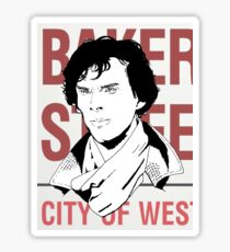 sherlock #2 Sticker