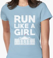 Run Like A Girl - Hillary Clinton T-Shirt