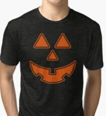 Jack o lantern costume design Tri-blend T-Shirt