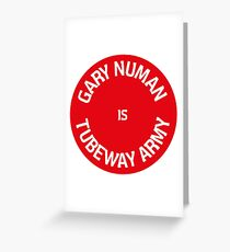 Gary Numan is Tubeway Army Design Greeting Card