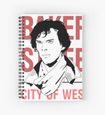 sherlock #2 Spiral Notebook