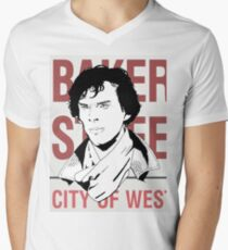 sherlock #2 Mens V-Neck T-Shirt
