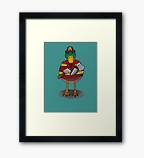 Fire Drake Framed Print