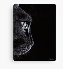 The Watcher Drawing Canvas Print