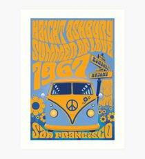 Haight Ashbury Summer Of Love Art Print
