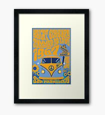 Haight Ashbury Summer Of Love Framed Print