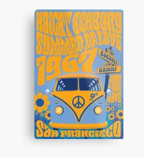 Haight Ashbury Summer Of Love Metal Print