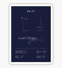 CSGO AK-47 Blueprint Sticker