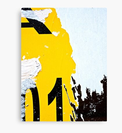 Paper Memories Canvas Print