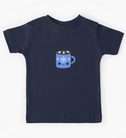 Mug of hot chocolate with cute marshmallows Kids Clothes