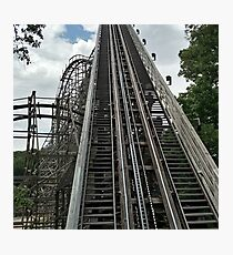 Outlaw Run Rollercoster Photographic Print