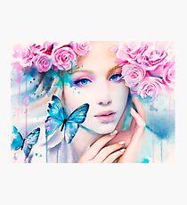 Pink Constellation Photographic Print