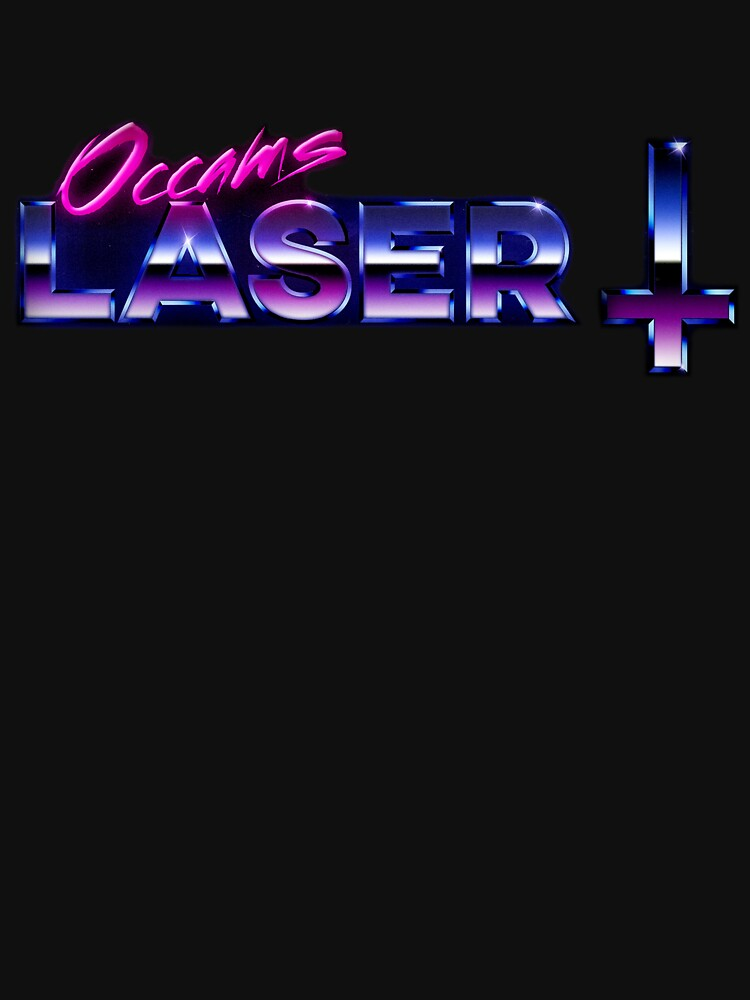 Occams Laser Chrome Cross Logo by occamslaser