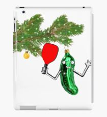 pickleball holiday gifts iPad Case/Skin