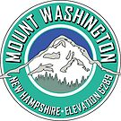 MOUNT WASHINGTON NEW HAMPSHIRE MOUNTAIN CLIMBING HIKING EXPLORE TEAL by MyHandmadeSigns