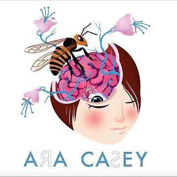 Ara Casey's Anon Bee EP Cover by anonbrunette