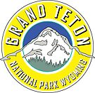 GRAND TETON NATIONAL PARK WYOMING 1929 HIKING CAMPING CLIMBING MOUNTAINS YELLOW by MyHandmadeSigns