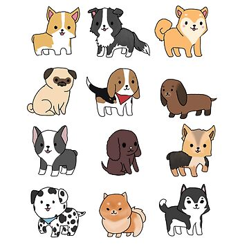 Dogs by Queenjellybeany