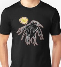 sunrise crow Unisex T-Shirt