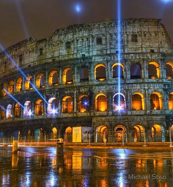 Coliseum at Night by Michael Stiso
