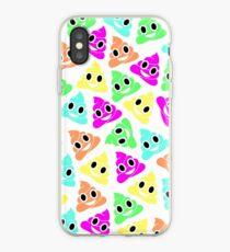Colourful Poop Emojis! iPhone Case