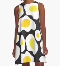 Fried Eggs  A-Line Dress