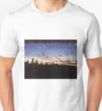Lighthouse at sunset Unisex T-Shirt