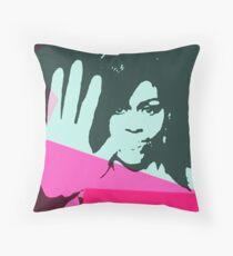 Michelle Obama Superstar Throw Pillow