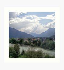 Austrian Landscape Art Print