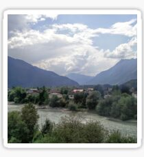 Austrian Landscape Sticker