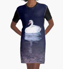 Swan of Harmaja Graphic T-Shirt Dress