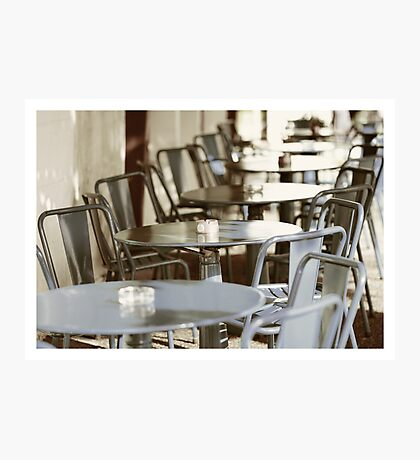 Terras in France Photographic Print