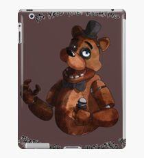 The Toreadore Teddy (english) iPad Case/Skin