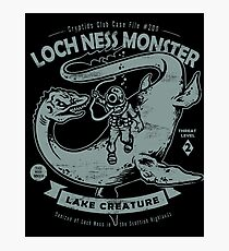 Lochness Monster - Cryptids Club Case file #200 Photographic Print