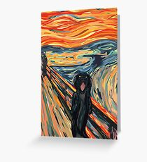 RB Pet Monsters - The Scream Bailey  Greeting Card