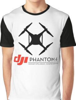 DJI Phantom 4 Drone  Graphic T-Shirt