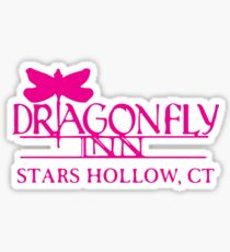 Gilmore Girls - Dragon Fly Inn Sticker