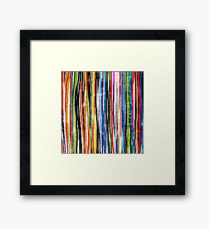 fancy stripes 1 Framed Print