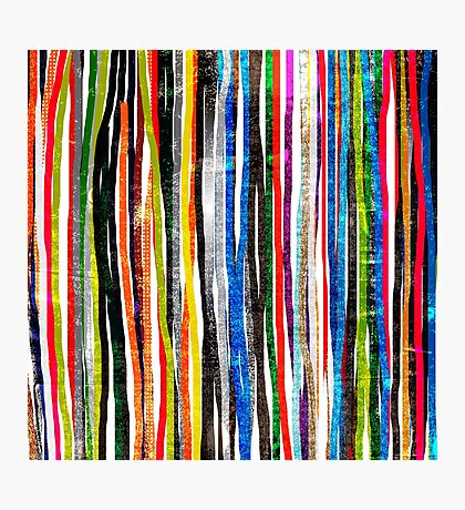 fancy stripes 1 Photographic Print