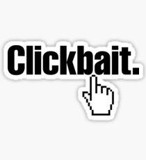 Clickbait. Sticker