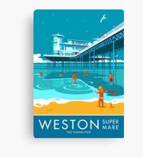 Weston super Mare, Grand Pier Canvas Print