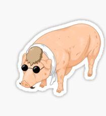 Porco Rosso Back To Home Sticker