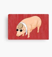 Porco Rosso Back To Home Canvas Print