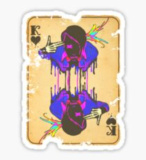 King of Bleeding Hearts Sticker